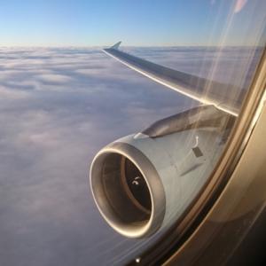 ビジネスクラスで行く家族3人特典航空券の旅⑥バンクーバー(YVR)-エドモントン(YEG)
