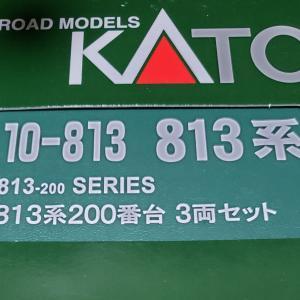 [鉄道模型] 入線記録 813系200番台