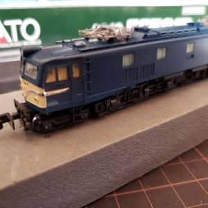 [鉄道模型] 整備記録 EF58