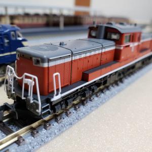 [鉄道模型] 入線記録 DD51-1043下関総合車両所