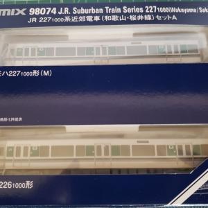 [鉄道模型] 入線記録 227系1000番台(和歌山・桜井線)Aセット