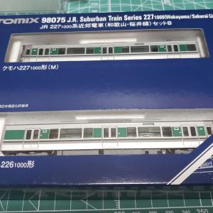 [鉄道模型] 入線記録 227系1000番台(和歌山・桜井線)Bセット