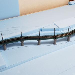 [鉄道模型] レイアウトへの道 第3回 カーブ鉄橋その3