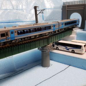 [鉄道模型] レイアウトへの道 第4回 カーブ鉄橋その4