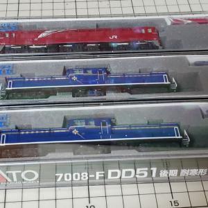 [鉄道模型] 入線記録 DD51(北斗星)とEF81(北斗星色)