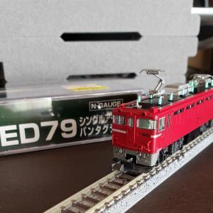 [鉄道模型] 入線記録 ED79