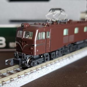 [鉄道模型] 入線記録 EF58 初期形大窓 茶