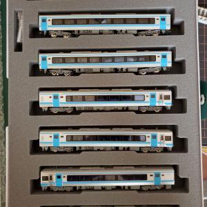[鉄道模型]入線記録 JR四国 2000系 「しおかぜ・いしづち」