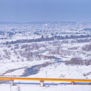 雪の富山:今日は大寒