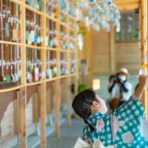 風鈴トンネル:櫛田神社