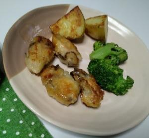 牡蠣ブロコリージャガ芋
