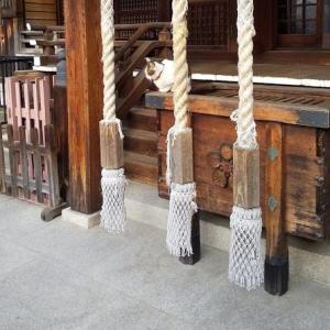 【フリー効果音】神社の鐘(本坪鈴)ガランガラン、お賽銭