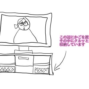 一度着た部屋着の収納方法
