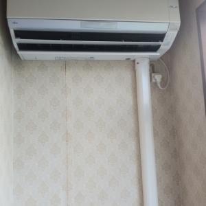 富士通お掃除付きエアコンクリーニングです。