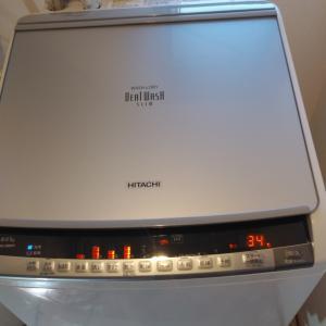 洗濯機水漏れ修理です。