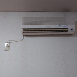 高性能エアコン取り付け工事です。