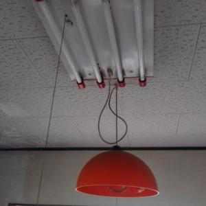 照明器具交換&水栓コマ交換です。