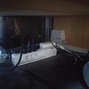 ブースター点検&水栓金具パッキン交換です。