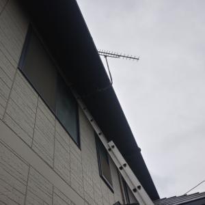 ケーブルテレビからアンテナ設備へ。