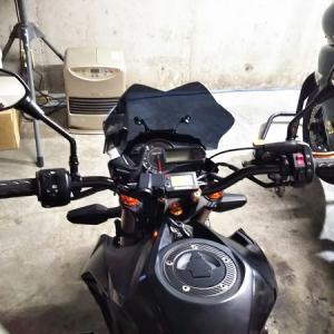 今日もバイク弄り・・・。