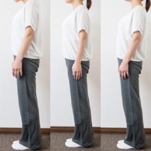 スタイルにも影響大!体が歪まない重心の置き方と見方