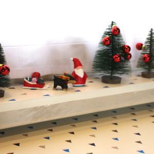 車内のクリスマス飾り付け