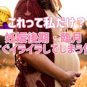 36w4d:これって私だけ?妊娠後期・臨月すぐイライラしてしまう件