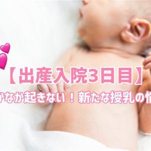 【出産入院3日目】なかなか娘が起きない!新たな授乳の悩み