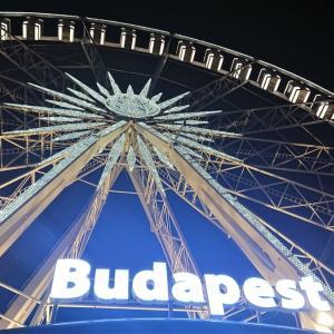 ブダペストに行っていました。