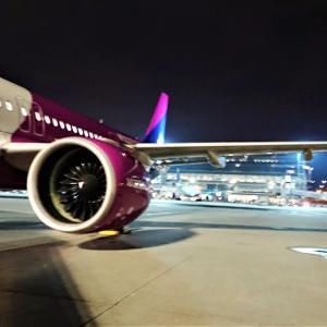 あの『W!ZZ AIR』でブダペストに飛んでみたら。