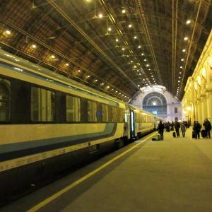 【夜行列車】ブダペスト⇒ミュンヘン『kálmán imre』子連れで乗ってみたよ【ユーロナイト】