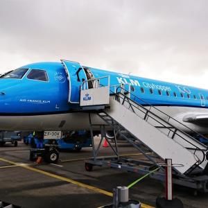 【KLM】フランクフルト⇒アムステルダム⇒関空【エコノミーはやっぱりしんどい】