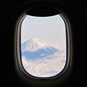 全日空・富士見のフライト【仙台⇒大阪】