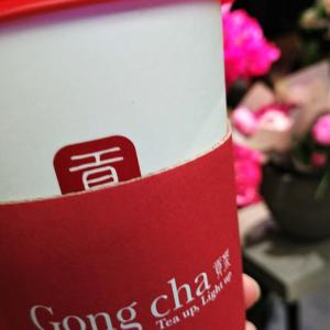 『貢茶 Gong Cha』本格台湾ドリンクが日本でも飲めて嬉しい『ゴンチャ』