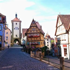 【中世へタイムスリップ】ローテンブルクの見どころまとめ【ドイツ】