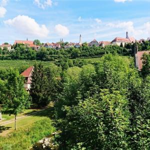 ローテンブルクをタウバー渓谷から眺めてみた【ドイツ】