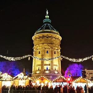 マンハイムのクリスマスマーケット【ドイツ】