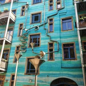 ドレスデンで見つけたアート村『Kunsthofpassage Dresden』