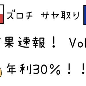 FXズロチユーロサヤ取りトレード結果Vol.3!年利約30%!~FX初心者お勧め資産運用ブログ~