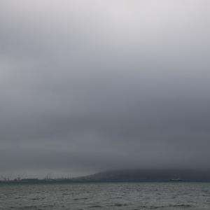 道南爺様日記 今日の函館湾は荒天 20200903
