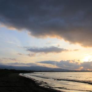 道南爺様日記 早朝の上磯漁港から20200924