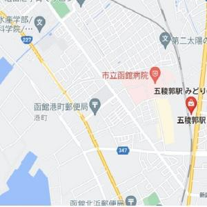 道南爺様日記 五稜郭こ線橋遠望 2021-04-21