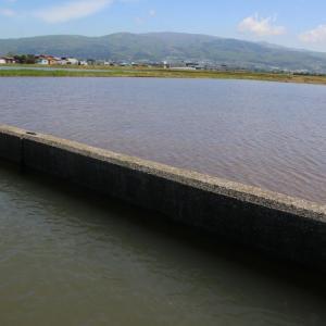 南爺様日記 旧大野町清水川 田植え直前 山々きれいだ2021-05-18
