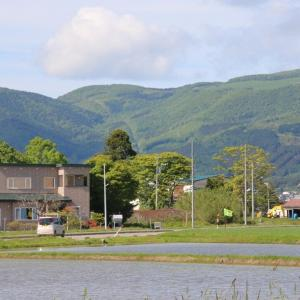 道南爺様日記 旧大野町千代田からの風景2021-05-31