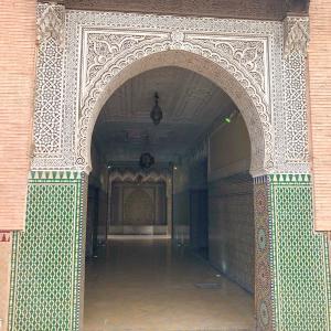 猛暑のモロッコ・マラケシュへの旅・観光編・2nd Day・その1