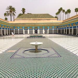 猛暑のモロッコ・マラケシュへの旅・観光編・2nd Day・その2