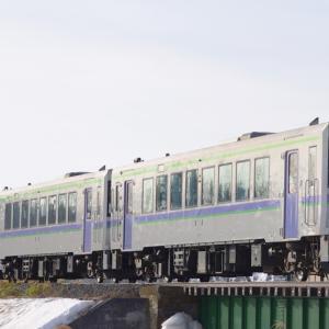 旭川駅行 一番列車