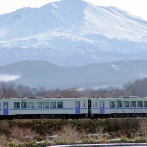 旭岳と富良野線