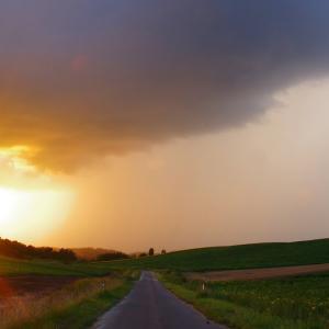 真夏の通り雨