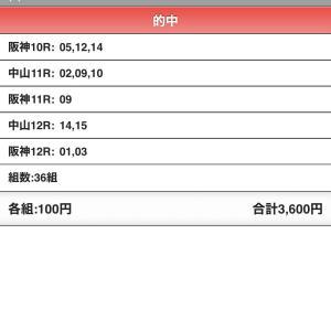 WIN5的中!!!! 8,438,440円